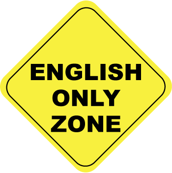 english-only-zone